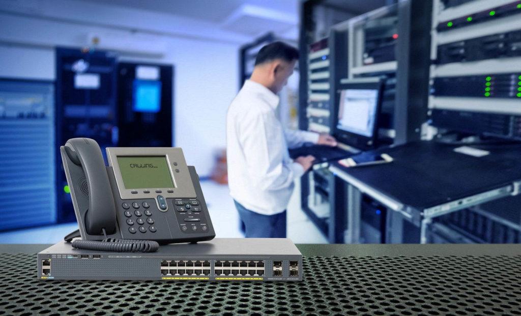 Instalador centralita comunicaciones